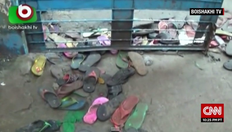 At least 23 people were killed in a stampede at a charity event in Bangladesh on Friday.