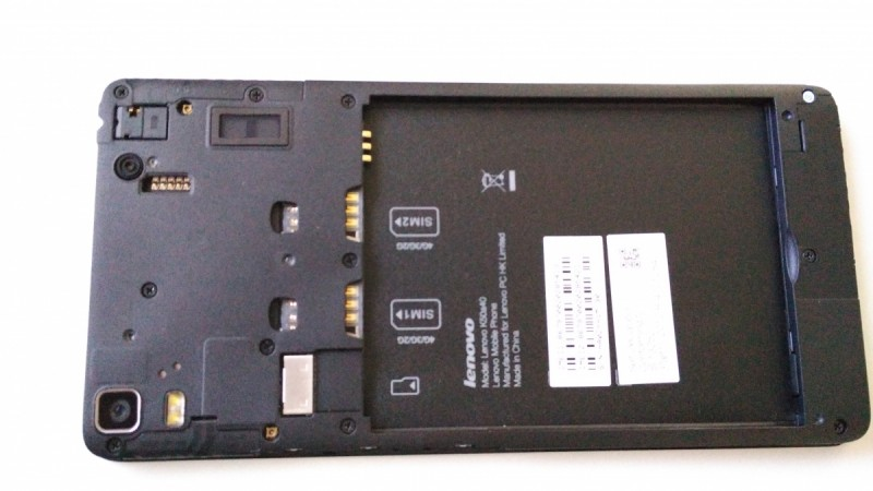 Lenovo K3 Note First Impression- Device Slots