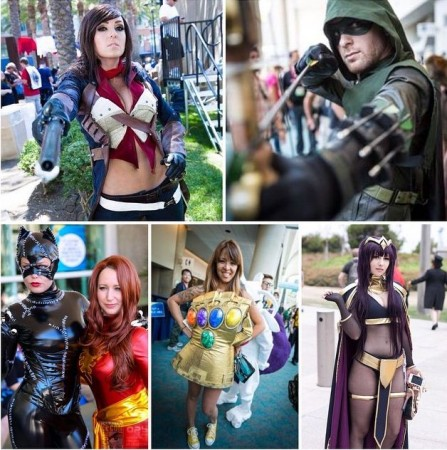 Cosplayers at SDCC 2015