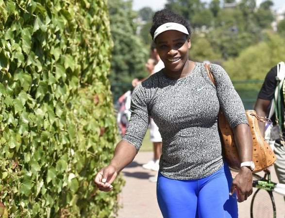Serena Williams Wimbledon 2015