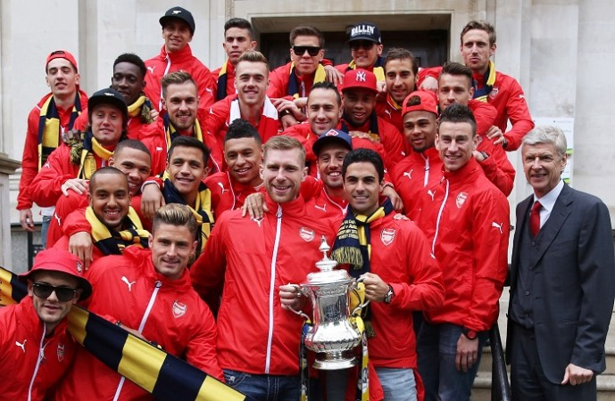 Arsenal FA Cup Trophy