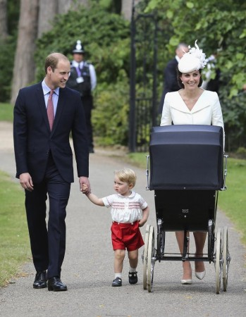 Prince William and Kate Middleton with George and Charlotte