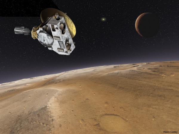 New Horizons spacecraft at Pluto