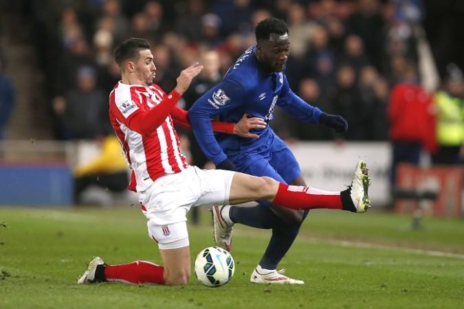Geoff Cameron Stoke City Romelu Lukaku Everton