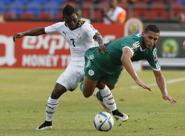 Christian Atsu Ghana Faouzi Ghoulam Algeria