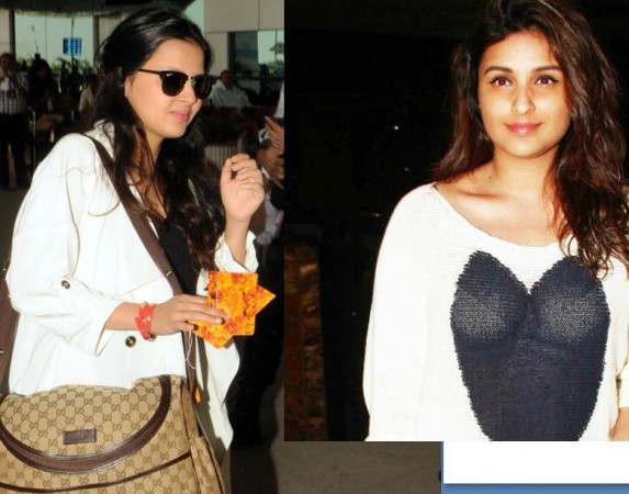 Sakshi Dhoni and Parineeti Chopra