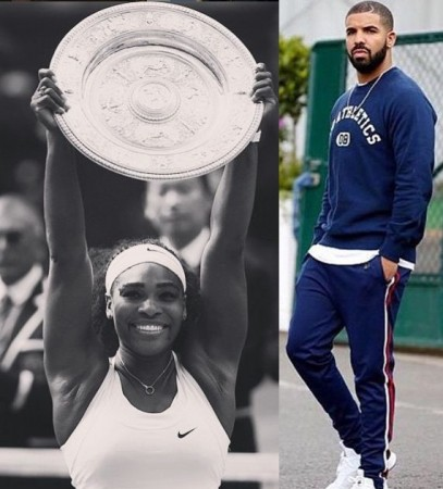 Drake and Serena Williams