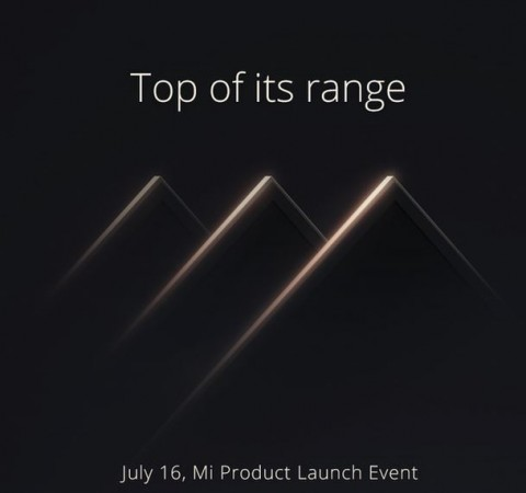 Xiaomi Teases New Mi series Product; 4K Smart TV Expected on 16 July