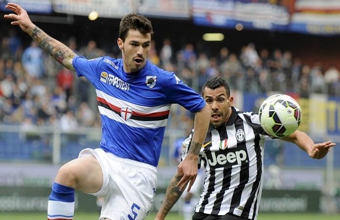 Alessio Romagnoli Sampdoria Carlos Tevez Juventus