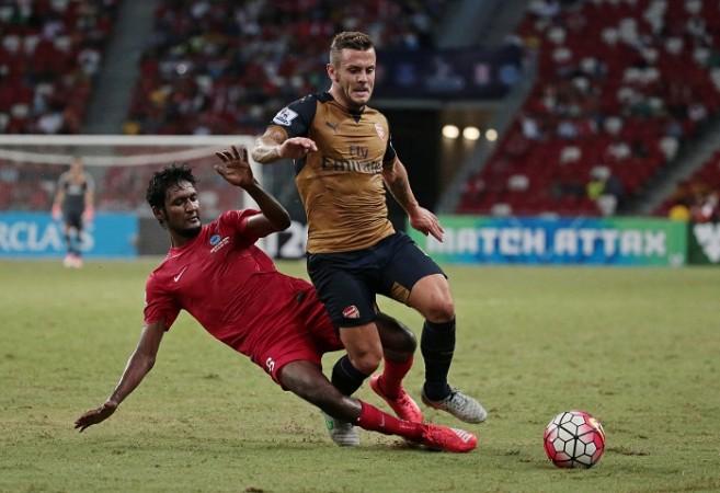 Jack Wilshere Arsenal Madhu Singapore Select XI