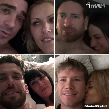 Couples from season 1 of 'Married at First Sight' AUstralia