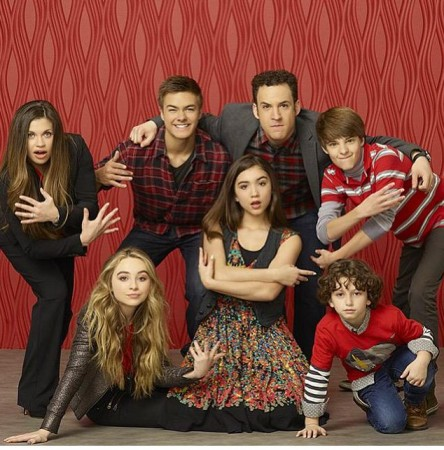 The cast of 'Girl Meets World'