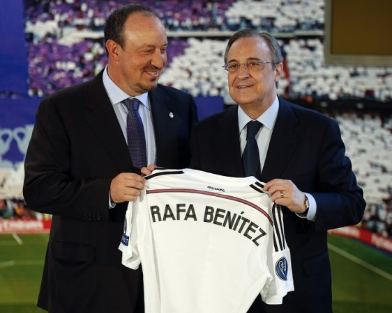 Rafa Benitez Florentino Perez Real Madrid