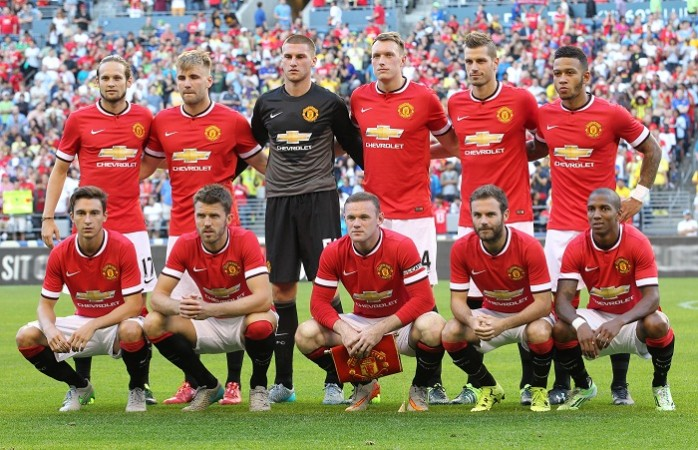 Manchester United International Champions Cup Team Picture