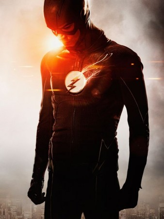 The Flash in his new suit
