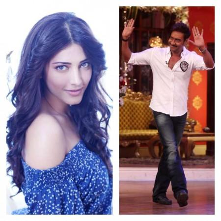 Shruti Haasan To Star with Ajay Devgn 'Baadshaho'