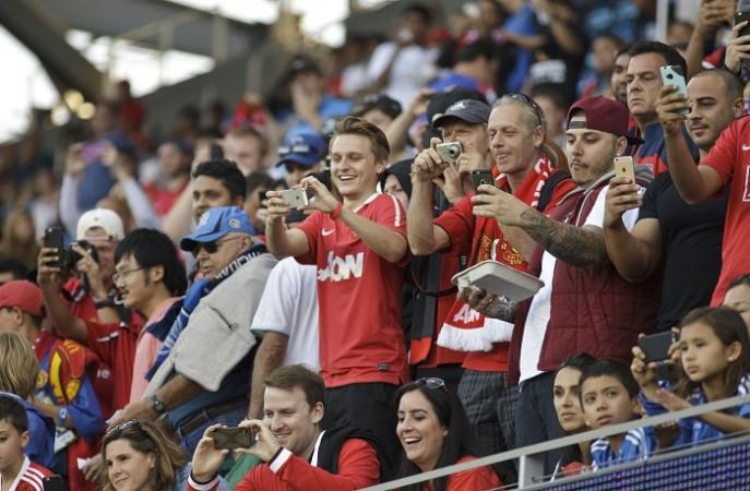 Manchester United Fans San Jose