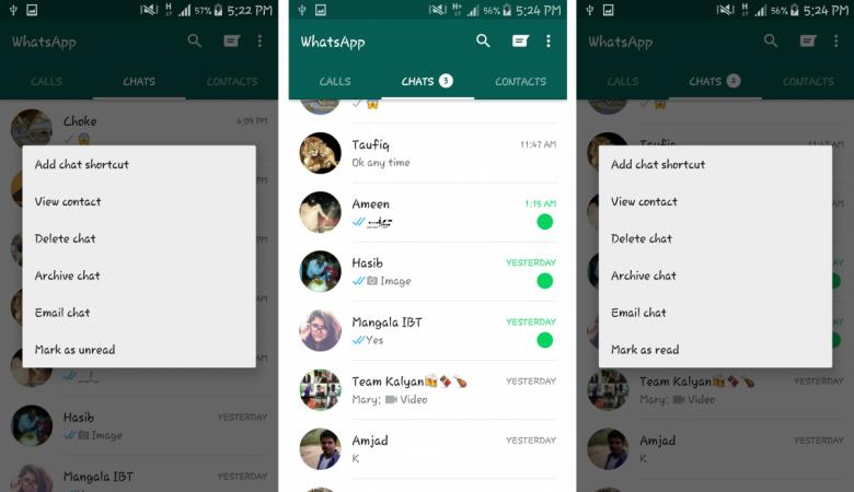 WhatsApp Update Brings 'Mark As Unread' Google Drive Backup And More [Complete Changelog]