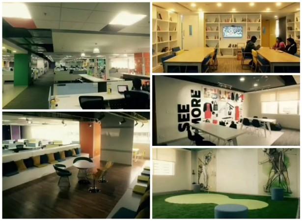 Flipkart's New office in Bangalore