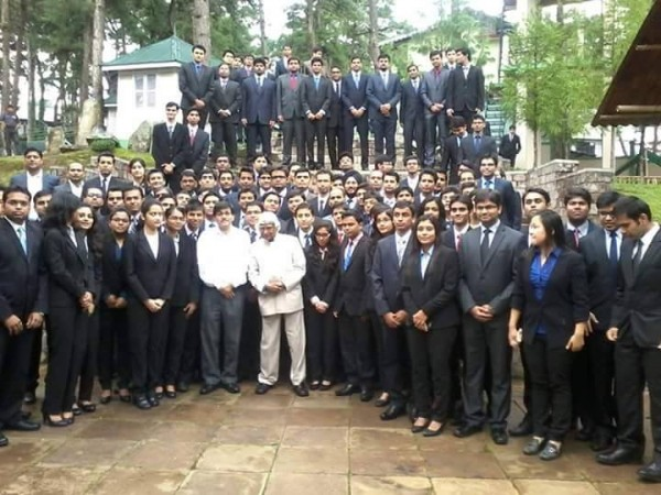 Last image of former President APJ Abdul Kalam taken at IIM-Shillong on Monday