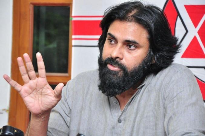 Pawan Kalyan's Beard Look at recent press meet