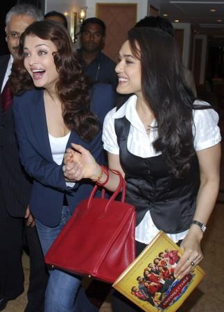 Aishwarya Rai Bachchan and Preity Zinta