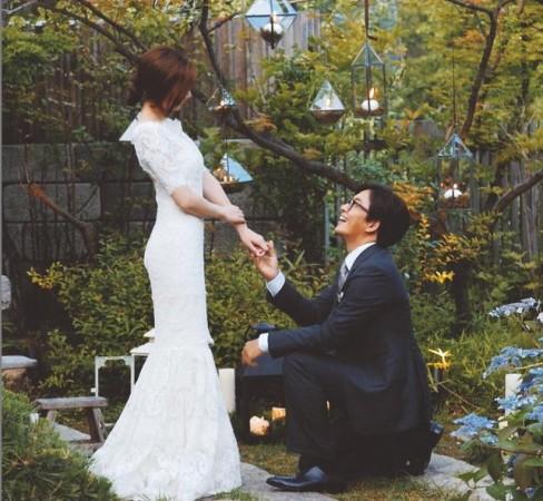 Park Soo Jin Wedding
