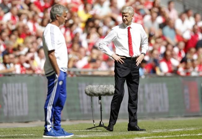 Jose Mourinho Chelsea Arsene Wenger Arsenal