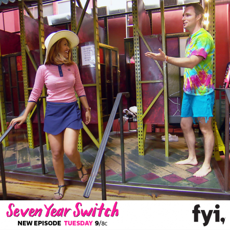 Danielle and CW from 'Seven year Switch'