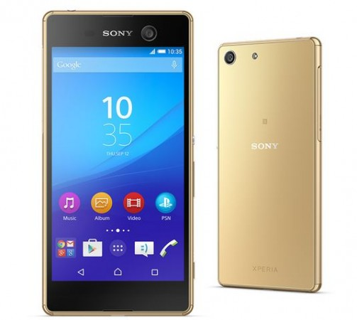 Sony Officially Unveils Pro-Camera Phones Xperia M5, C5 Ultra with Full HD Display