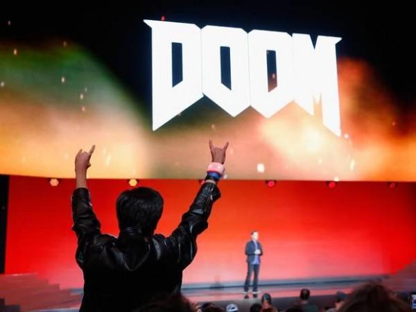 Bethesda's Doom at E3 2015