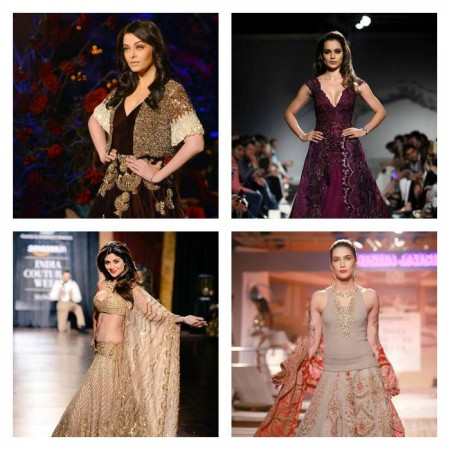Aishwarya, Kriti, Kangana, Shilpa –Who Looked Best As Show Stopper At AICW 2015?