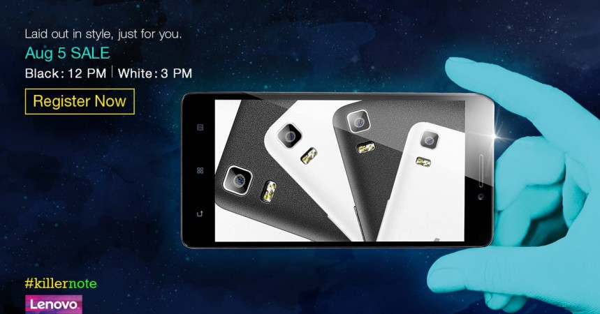 Lenovo K3 Note Flipkart Flash Sale Tips: Rs. 9,999 Phablet To Go On Sale 5 August