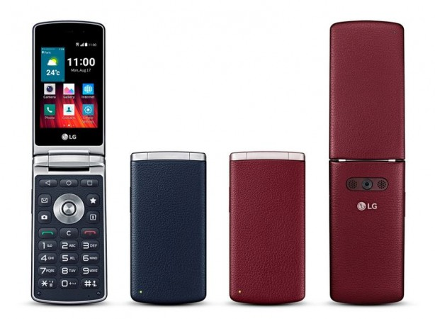 LG Wine Smart: 3.2-inch Flip-phone with Android 5.1.1 Lollipop Unveiled