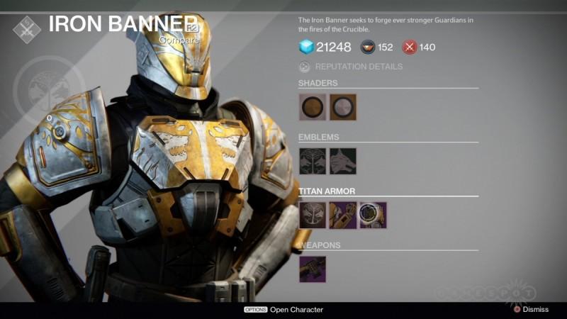 Destiny's Iron Banner game mode
