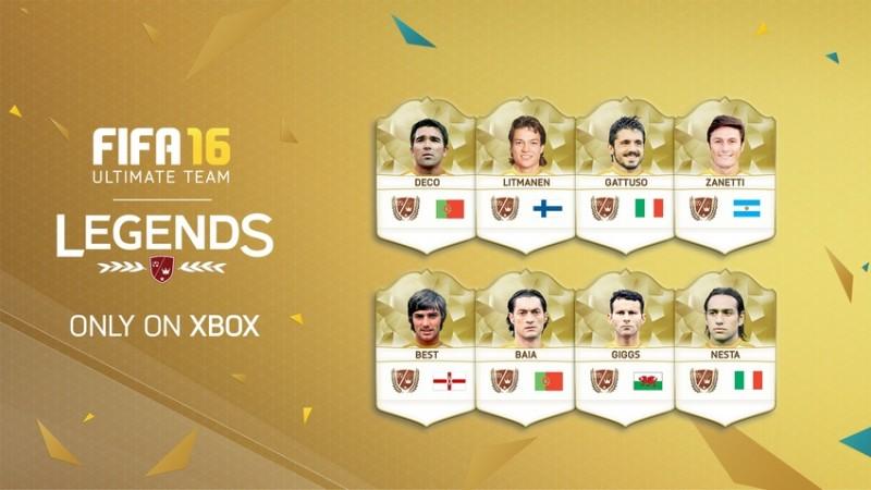 FIFA 16 Ultimate Team – Legends
