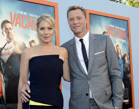 Christina Applegate and husband Martyn LeNoble