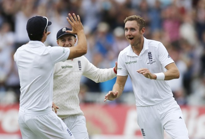 Stuart Broad England Ashes 4th Test