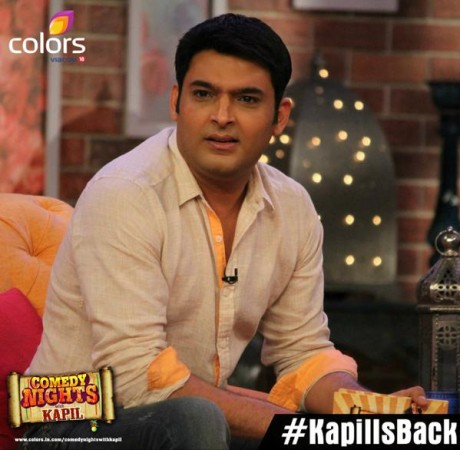 Kapil Sharma Is Back On 'Comedy Nights With Kapil'
