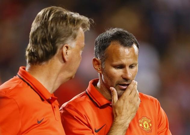 Louis Van Gaal Ryan Giggs Manchester United