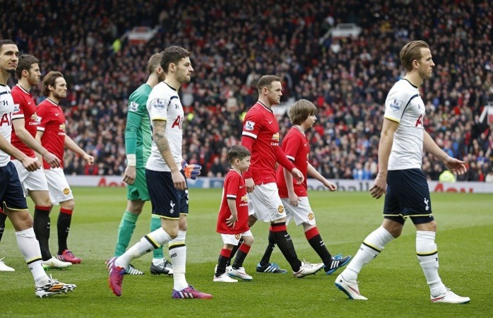 Manchester United Wayne Rooney Tottenham Harry Kane