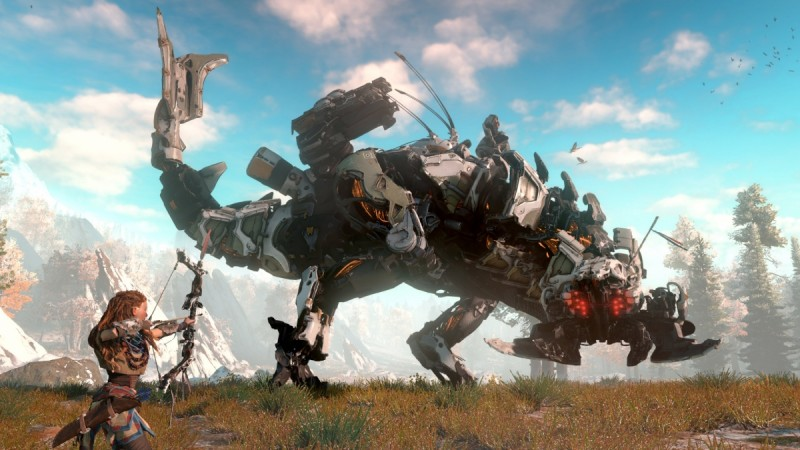 Horizon: Zero Dawn is a PS4 exclusive