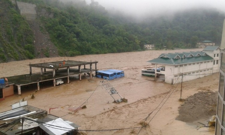 Dharampur flash floods