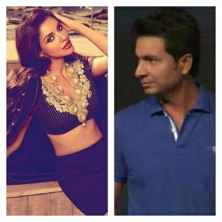 Asin and Rahul Sharma