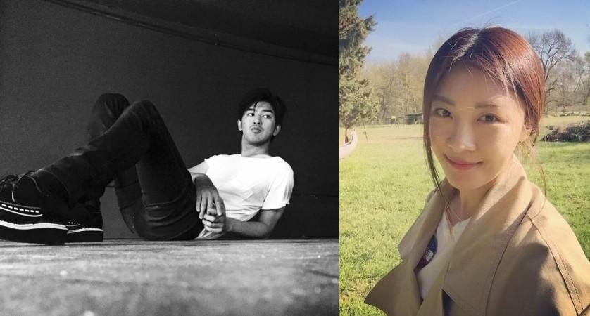 Ha Ji Won and Chen Bolin