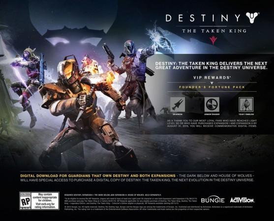 Destiny's The Taken King Expansion