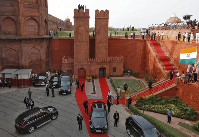 Independence Day Red fort security