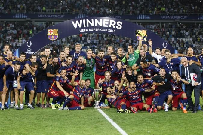Barcelona UEFA Super Cup 2015