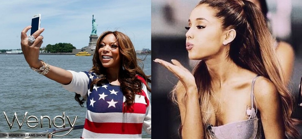 Wendy Williams and Ariana Grande