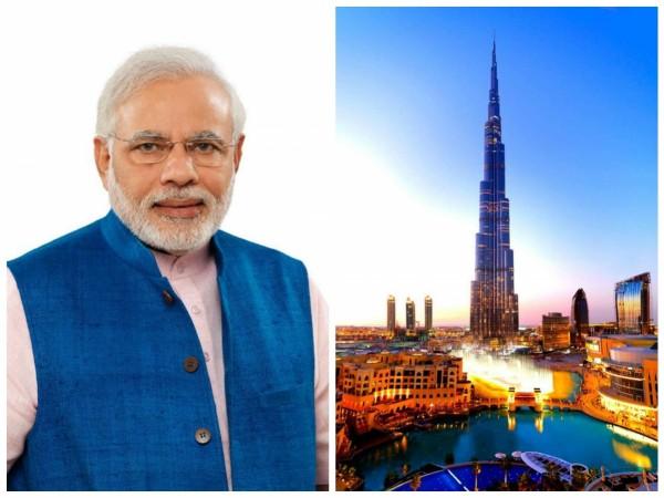 Narendra Modi to Visit UAE